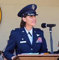 Col Jennifer Aupke, ANG